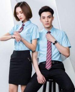 Thiết kế và in áo đồng phục sơ mi-2